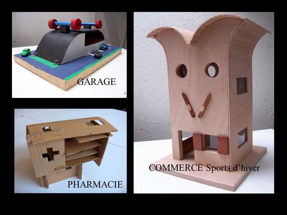 COMMERCE Sports dhiver PHARMACIE GARAGE