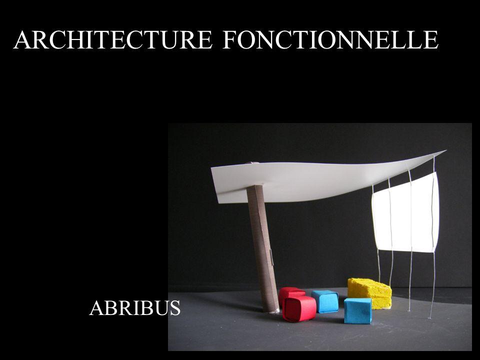 ARCHITECTURE FONCTIONNELLE ABRIBUS
