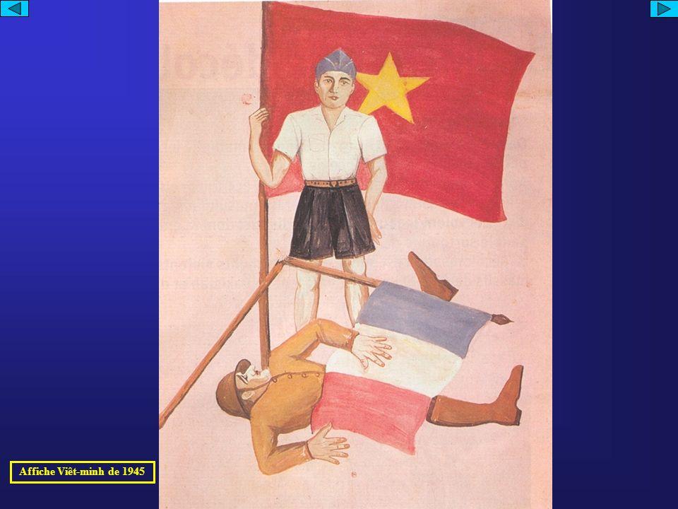 Affiche Viêt-minh de 1945