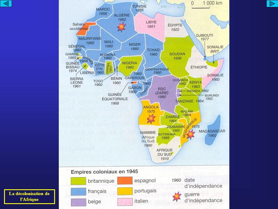 La décolonisation de lAfrique