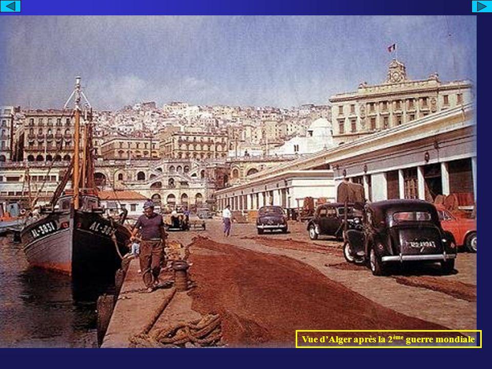 Affiche – « Algérie vivra française »