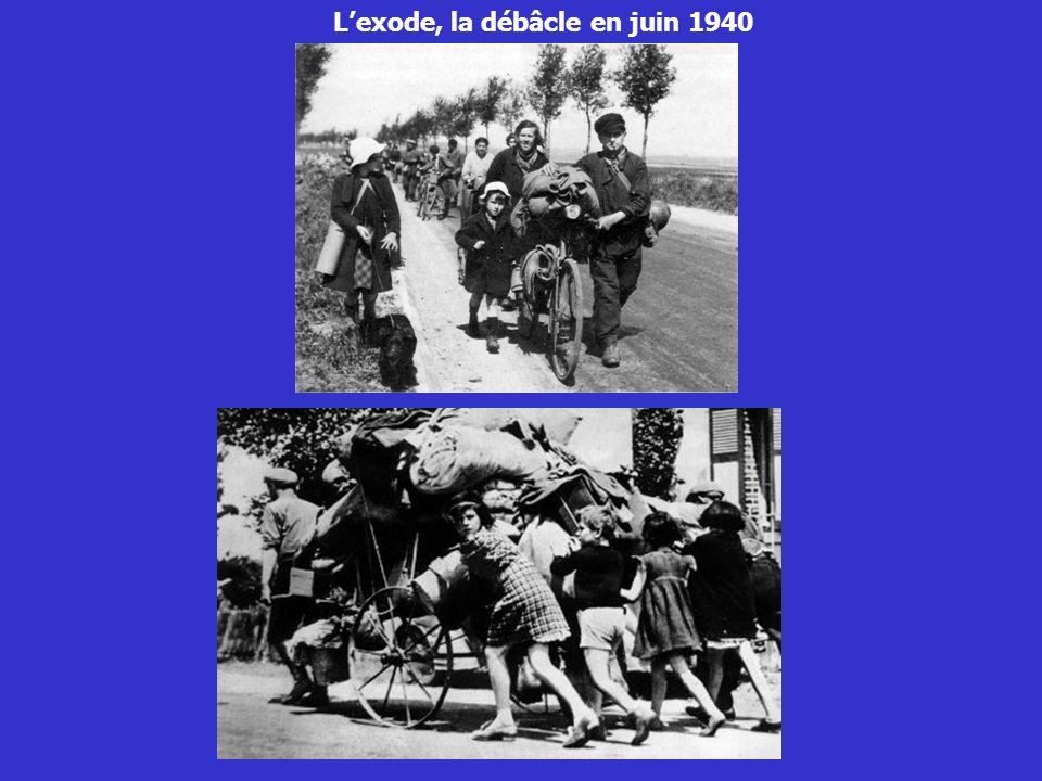 Lexode, la débâcle en juin 1940