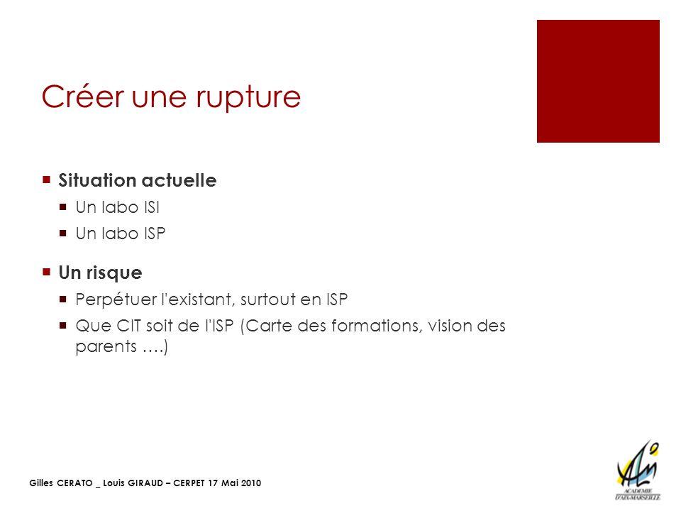 Gilles CERATO _ Louis GIRAUD – CERPET 17 Mai 2010 Projet CIT Concevoir une lampe pour un nouvel usage (Lampe de poche).