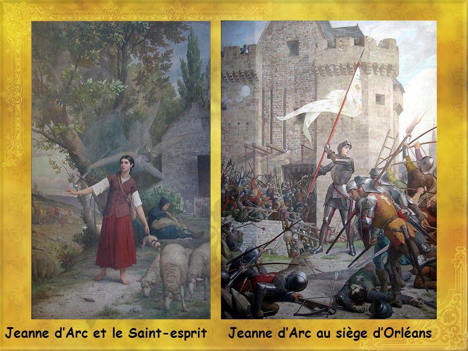 Jeanne dArc et le Saint-espritJeanne dArc au siège dOrléans