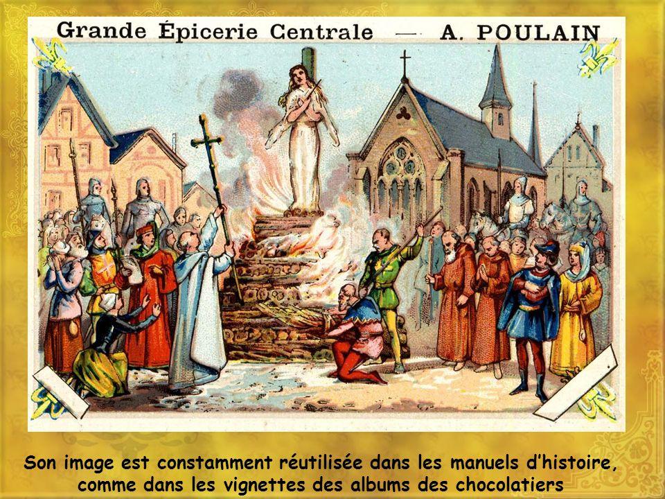 Elle est réemployée pendant loccupation par le régime de Vichy, le maréchal Pétain reprenant limage de la « libératrice » et des valeurs traditionnelles face à lennemi de façon ambiguë (anglais ou nazi ?) 11 mai 1941, pour que revive en nos coeurs l élan de Jeanne qui à 18 ans sauva la France