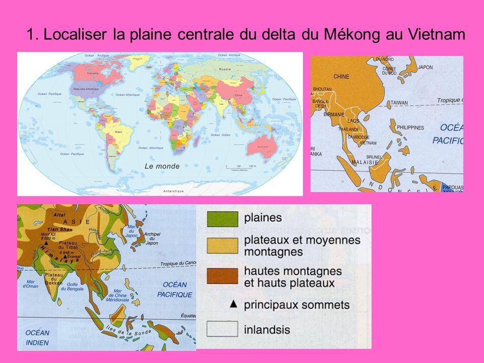 Conclusion de la séquence.Des activités agricoles autour de la riziculture (irriguée et pluviale).