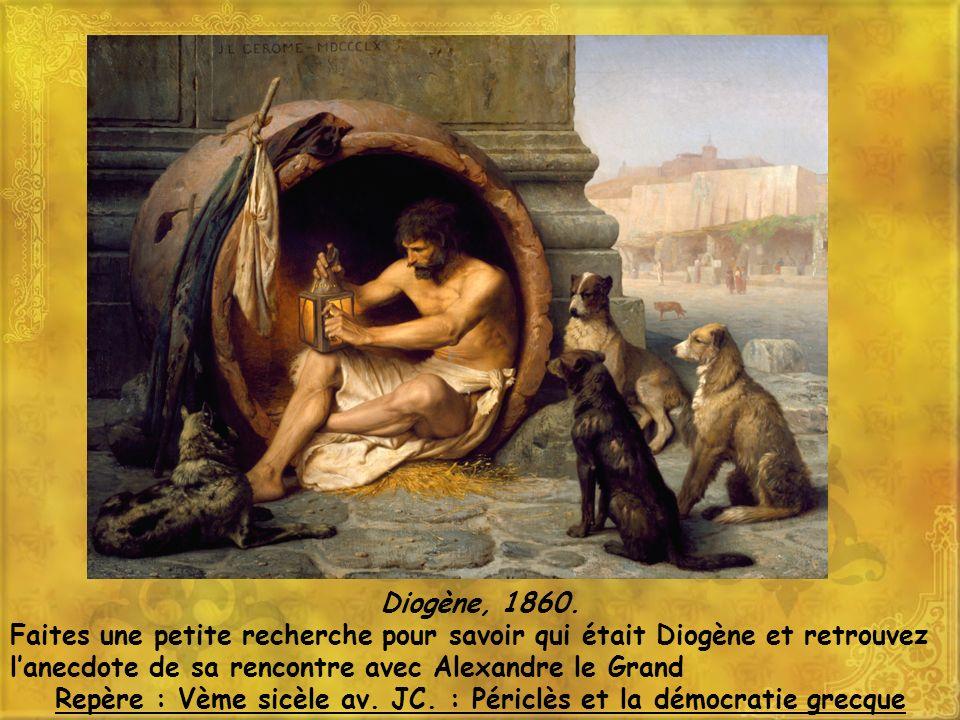 Diogène, 1860.