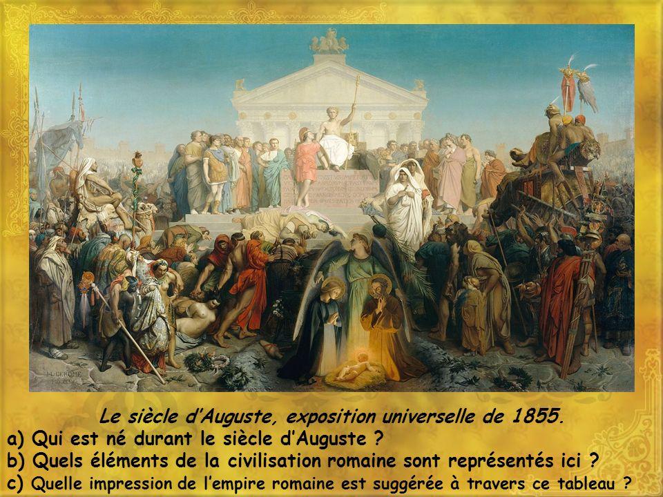 Le siècle dAuguste, exposition universelle de 1855.