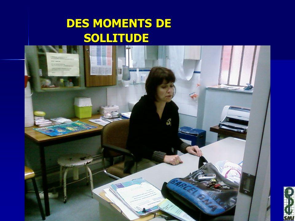 DES MOMENTS DE SOLLITUDE DES MOMENTS DE SOLLITUDE