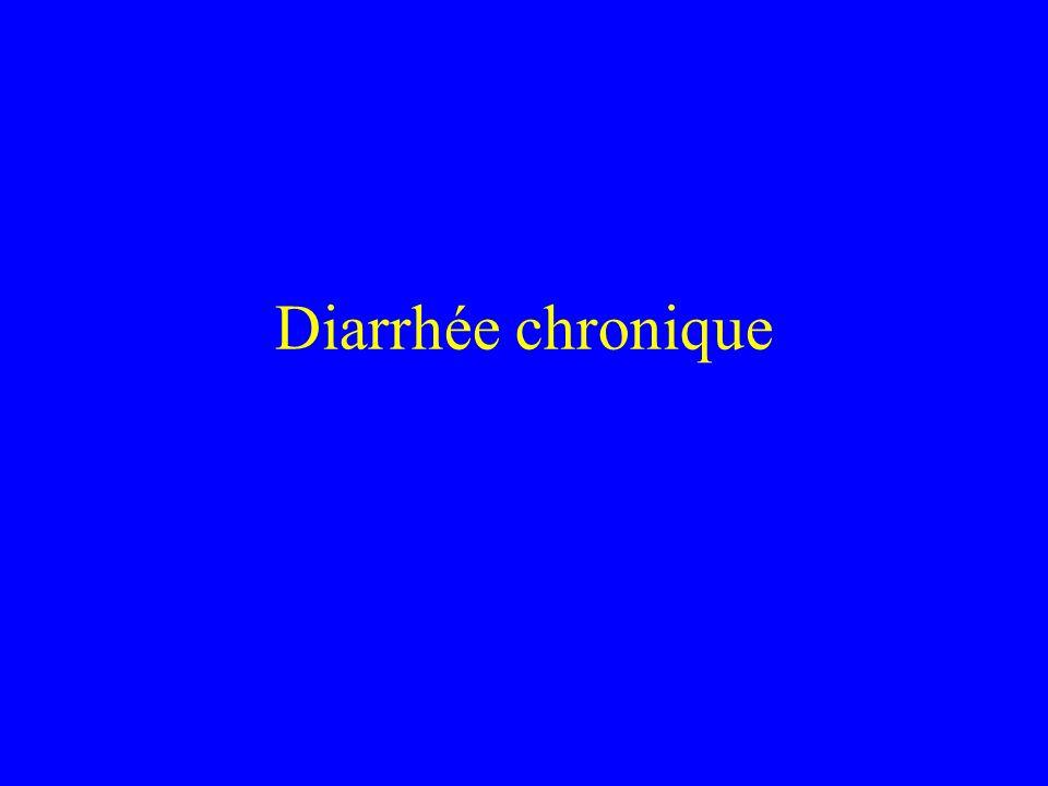 Diarrhée chronique