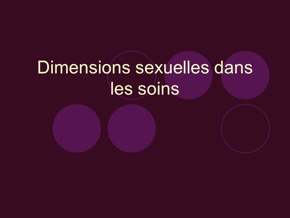 Dimensions sexuelles dans les soins