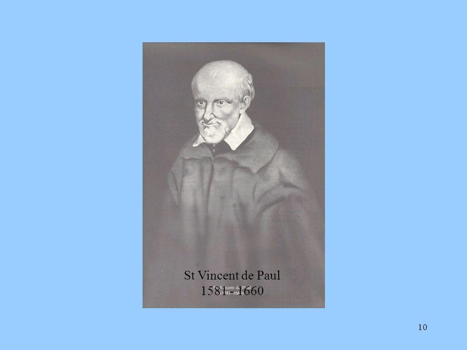 10 St Vincent de Paul 1581 - 1660
