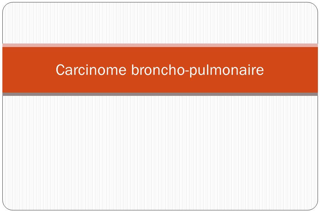 Épidémiologie 1 ère cause de mort par cancer chez lhomme (23% des décès par cancer) 1 Er cause de cancer chez la femme aux EU (devant cancer du sein !) ; Incidence en France 25 000 cas / an.