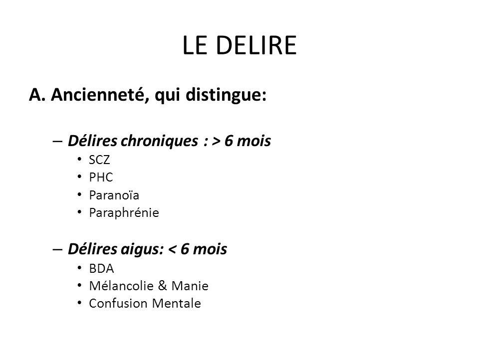 LE DELIRE B.