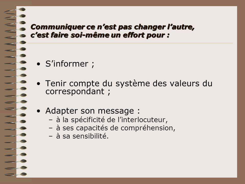 Les capacités éducatives Les capacités éducatives (5) Compréhension et expression de la langue française.Compréhension et expression de la langue française.