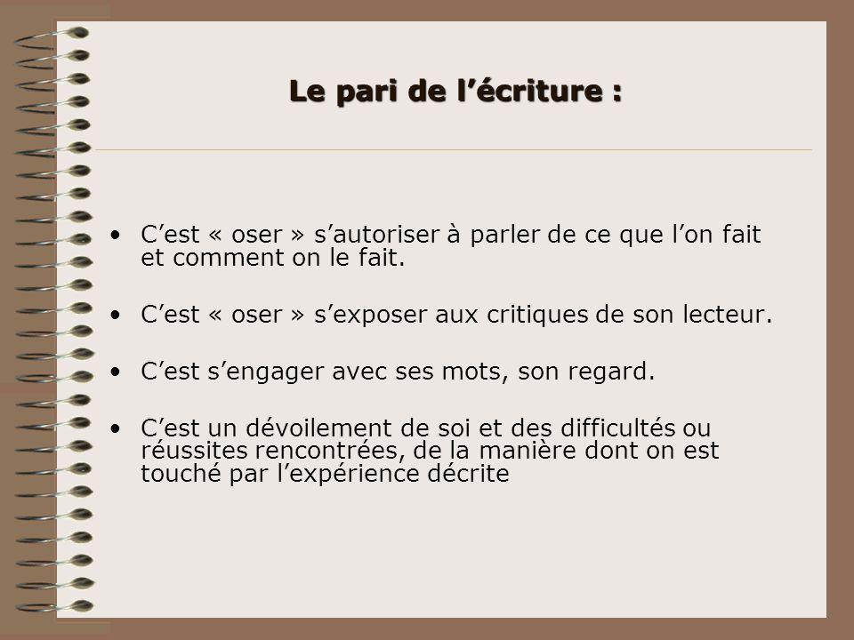Les différents écrits On peut distinguer 2 catégories : Ceux utiles au service :Ceux utiles au service : - Compte rendus dentretien (en vue dun agrément dassistante maternelle…).