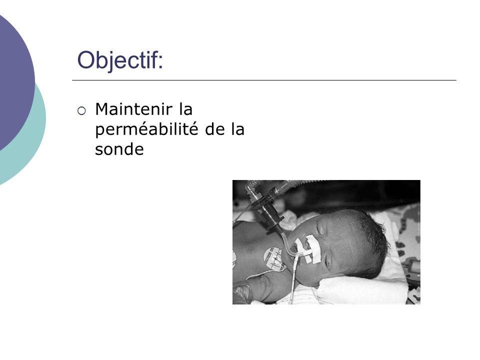 Indications: Pour tout enfant intubé ou trachéotomisé, selon lencombrement pulmonaire et selon le protocole du service.