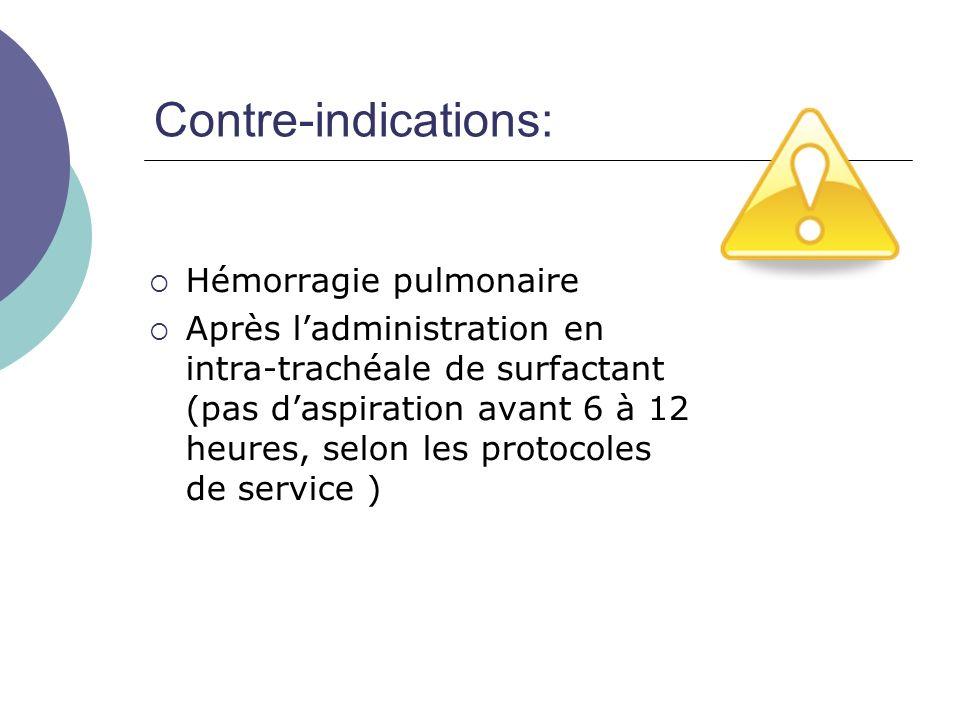 Préparation du matériel: Laspiration intra-trachéale est un soin stérile.