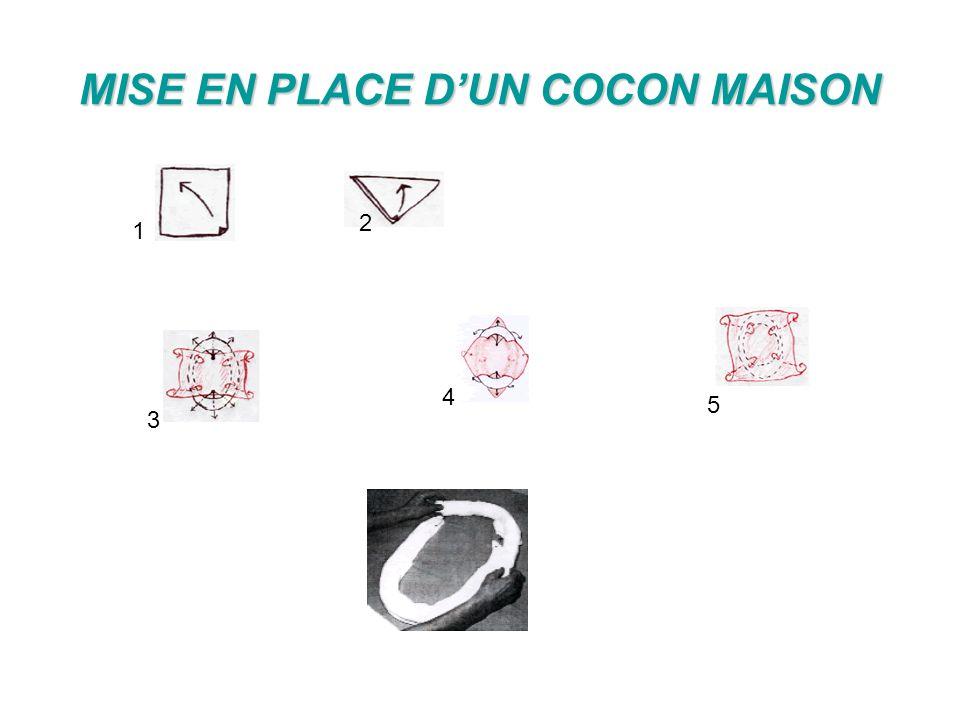 MISE EN PLACE DUN COCON MAISON 1 2 3 4 5