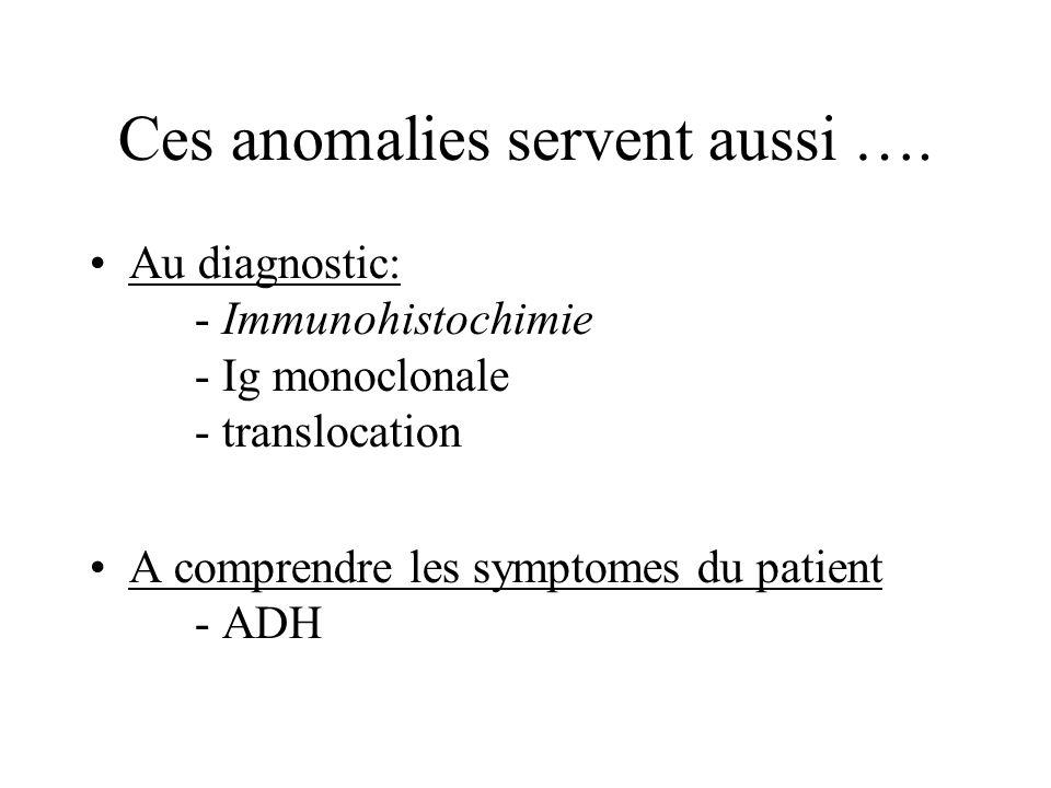 Ces anomalies servent aussi ….