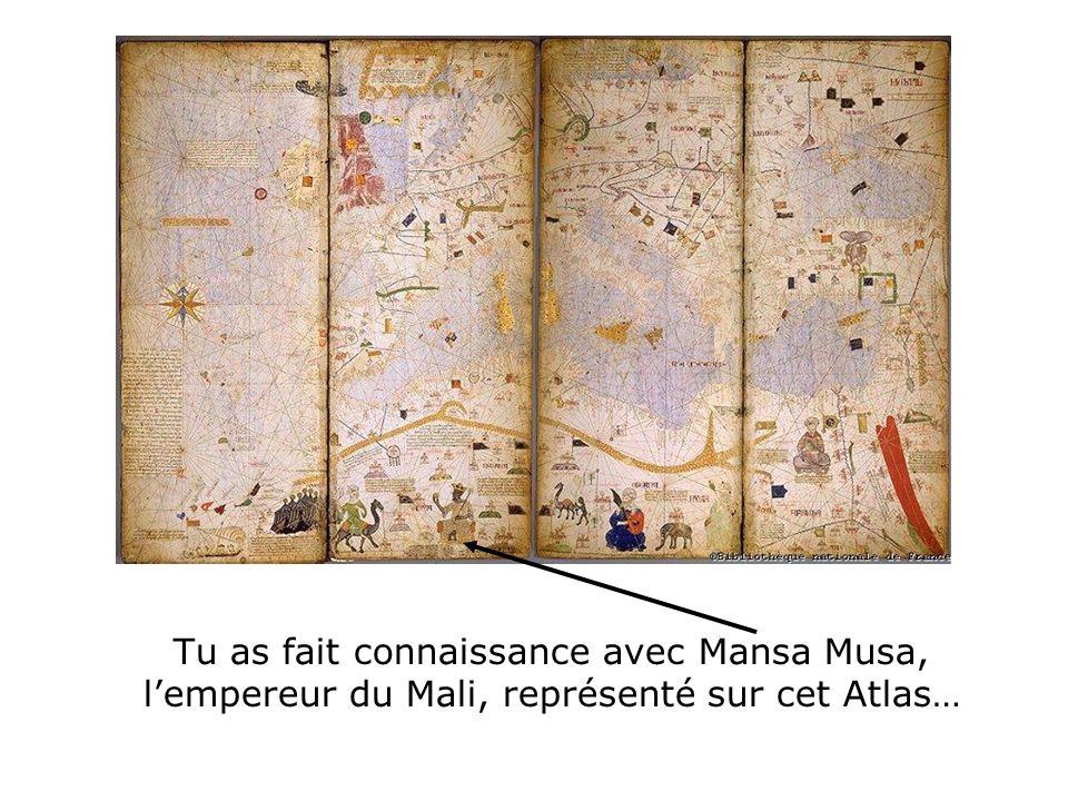 … et tu as découvert quà lépoque médiévale, lAfrique aussi connaissait des empires, en particulier à lemplacement du Sénégal actuel justement… Empire du Mali (capitale : Niani) XIII ème -XIV ème siècles Empire Songhaï (capitale : Gao) XII ème -XVI ème siècles