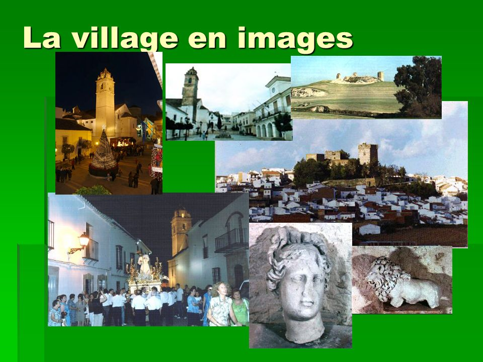 La village en images
