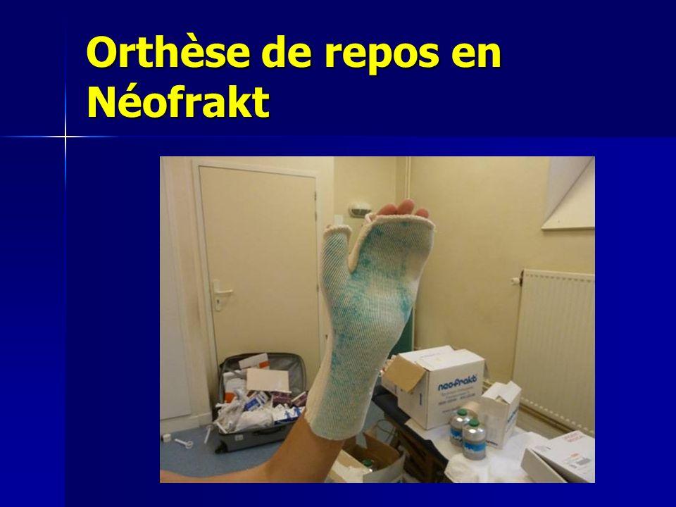 Orthèse de repos en Néofrakt