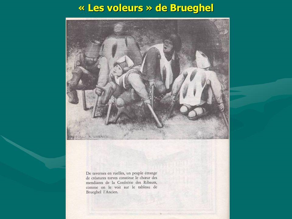 « Les voleurs » de Brueghel