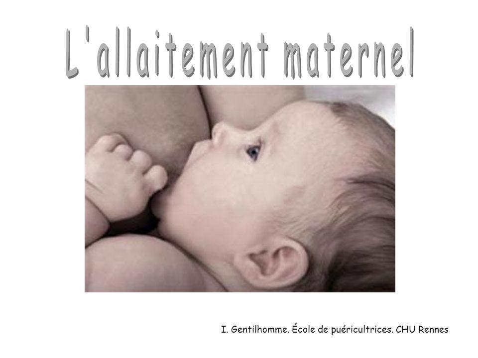 I. Gentilhomme. École de puéricultrices. CHU Rennes