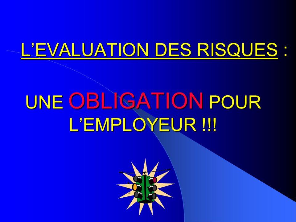 Directive Européenne du 12 juin 1989 Loi du 31 décembre 1991 Décret du 5 novembre 2001 Loi de modernisation sociale du 17 janvier 2002 Circulaires de