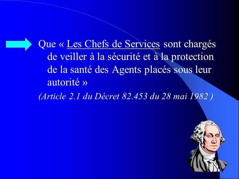 « OBLIGATION pour lemployeur dassurer la sécurité et de protéger la santé physique et mentale de ses salariés » (Article 230.2 du Code du Travail) … L