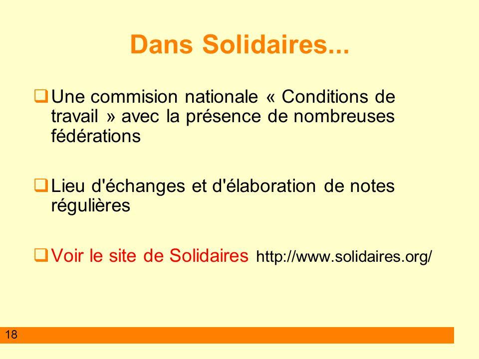 18 Dans Solidaires...
