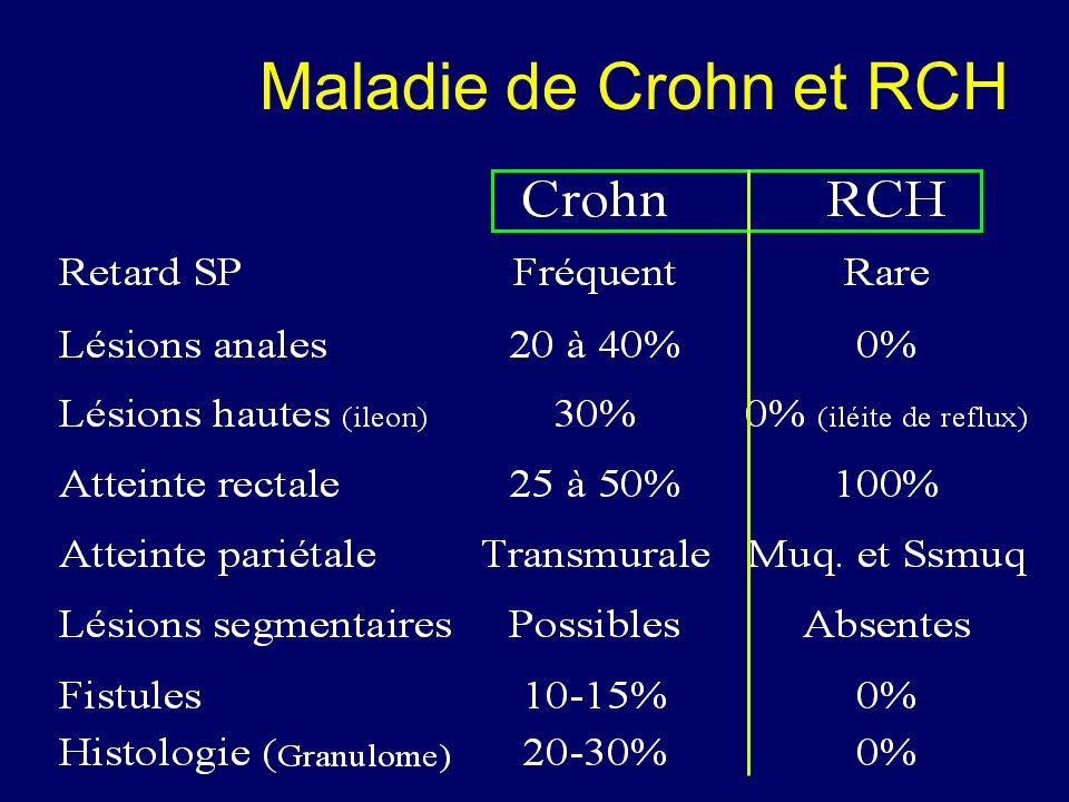 Maladie de Crohn et RCH