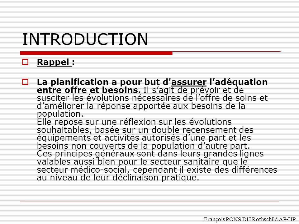 Rappel : La planification a pour but d assurer ladéquation entre offre et besoins.