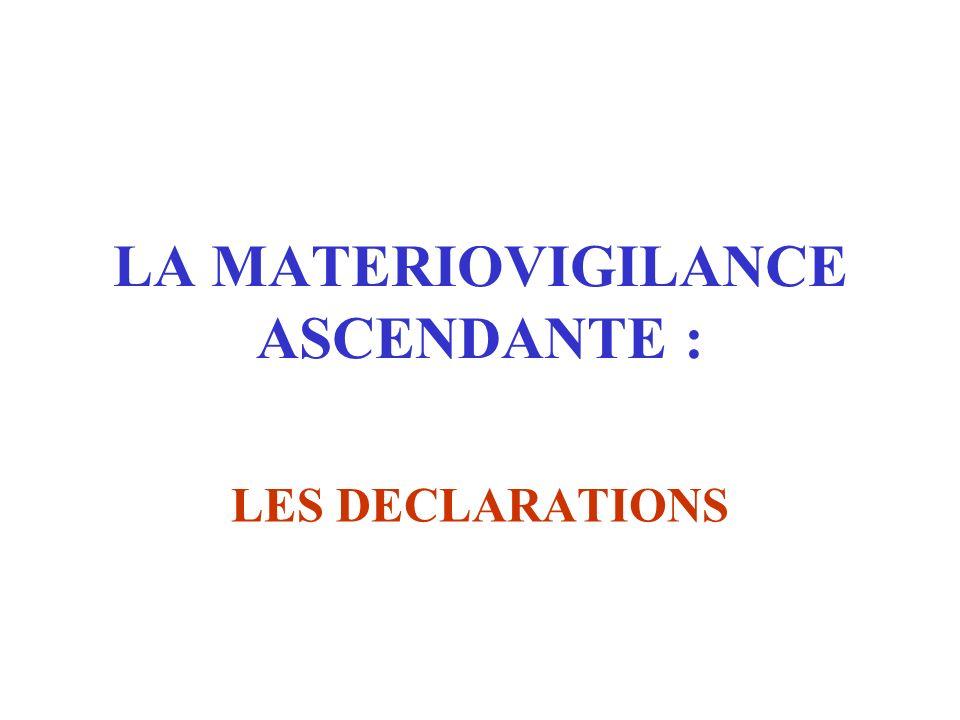 La matériovigilance est une obligation légale qui concerne l'ensemble des professionnels de santé, responsables à titre personnel de son application S