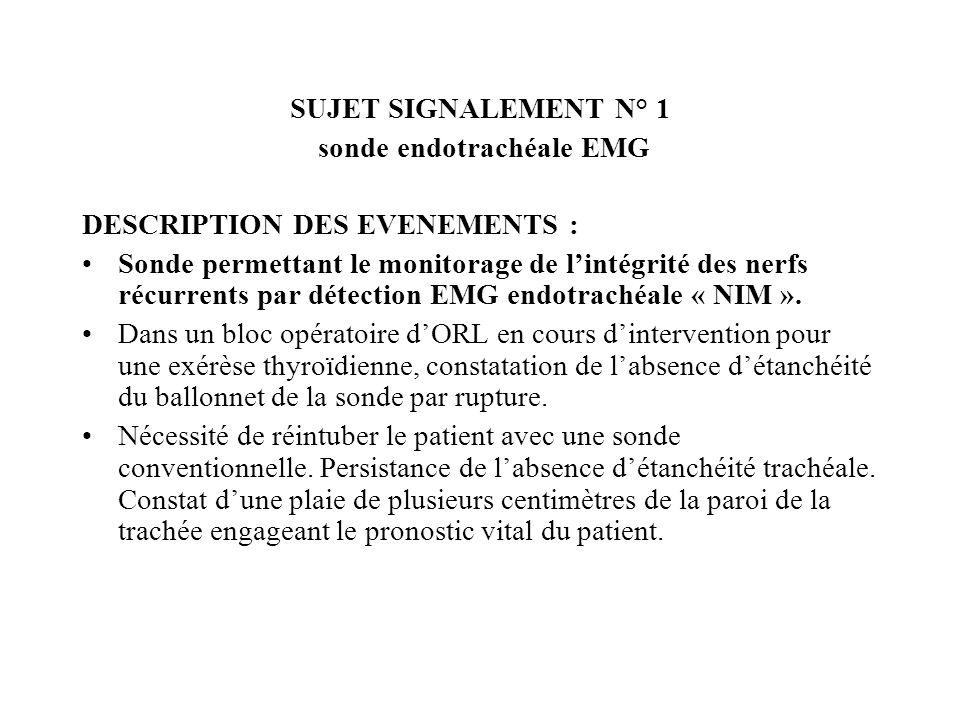 RE SUJET N°6 ACTION DU SERVICE DECLARANT : Vérification que le service est concerné par cette alerte Information générale à lensemble de léquipe dIBO