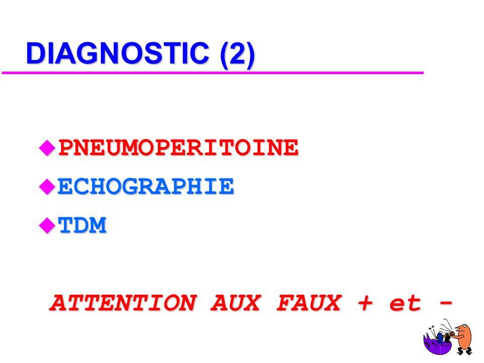 DIAGNOSTIC (1) u A DROITE : EPANCHEMENT PLEURAL RECIDIVANT u A GAUCHE : INSUFFISANCE RESPIRATOIRE AIGUE