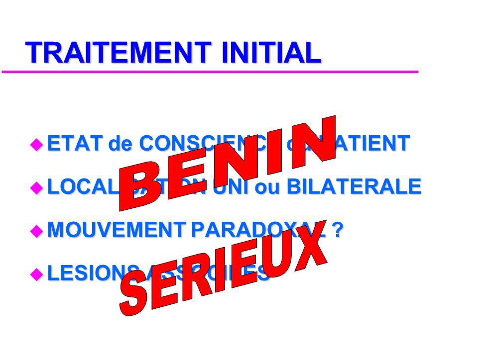 PERMANANTE 2 Sem. EVOLUTION DE LA DOULEUR DOULEUR AIGUE 2 Mois Temps SEQUELLES 2 Ans