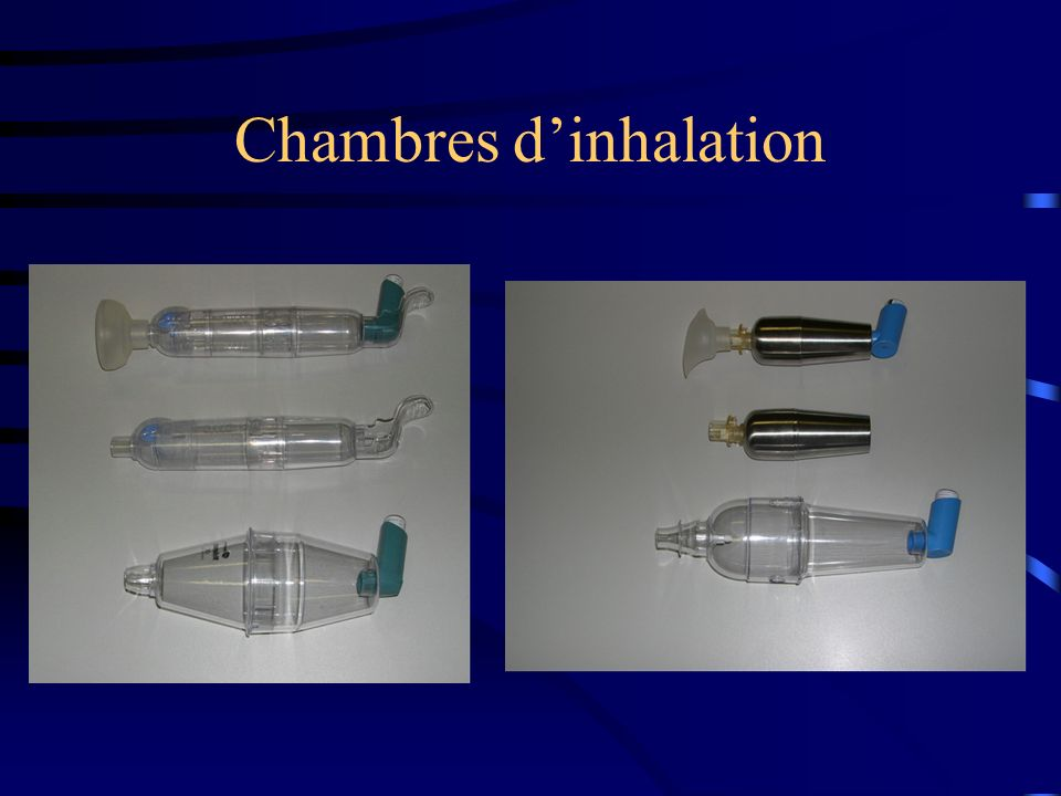 Chambres dinhalation