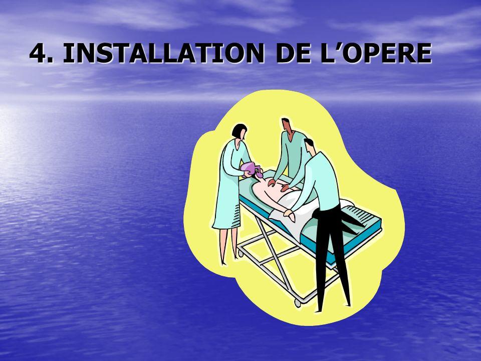 4. INSTALLATION DE LOPERE