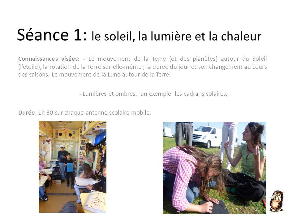 Déroulement : La séance est prise en charge par le représentant de lassociation Les Petits Débrouillards Aquitaine.