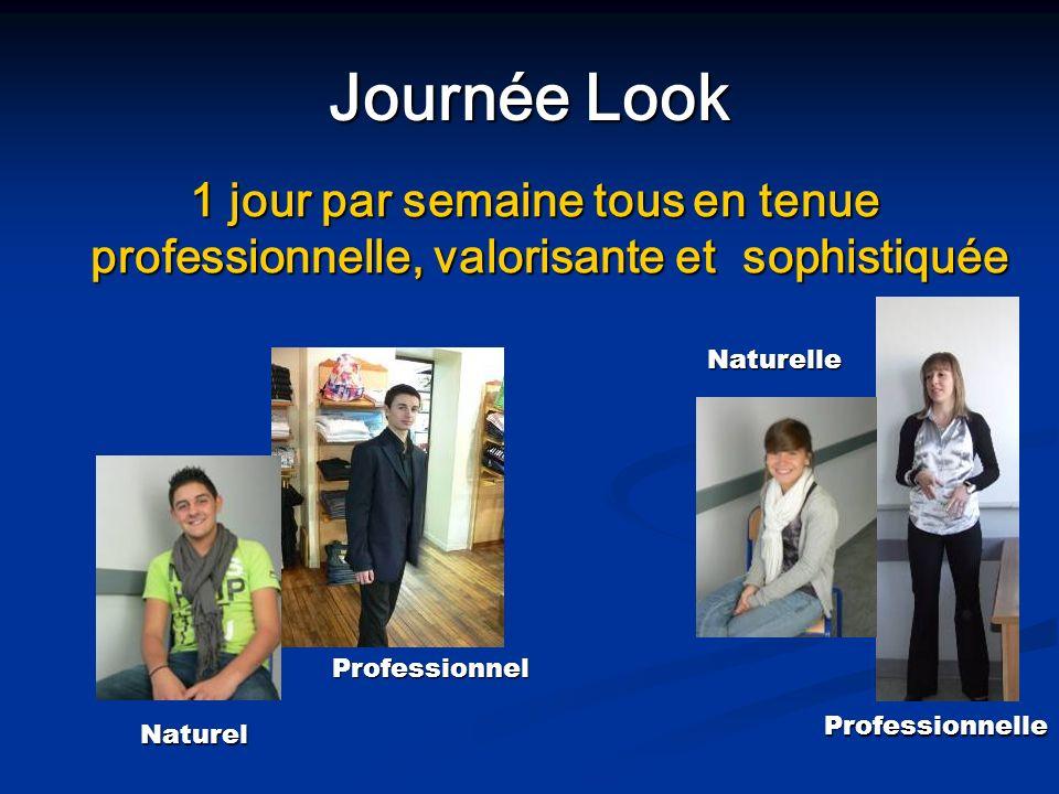 Journée Look 1 jour par semaine tous en tenue professionnelle, valorisante et sophistiquée 1 jour par semaine tous en tenue professionnelle, valorisan