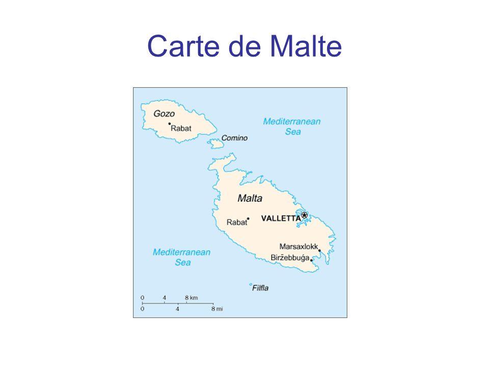 Carte de Malte