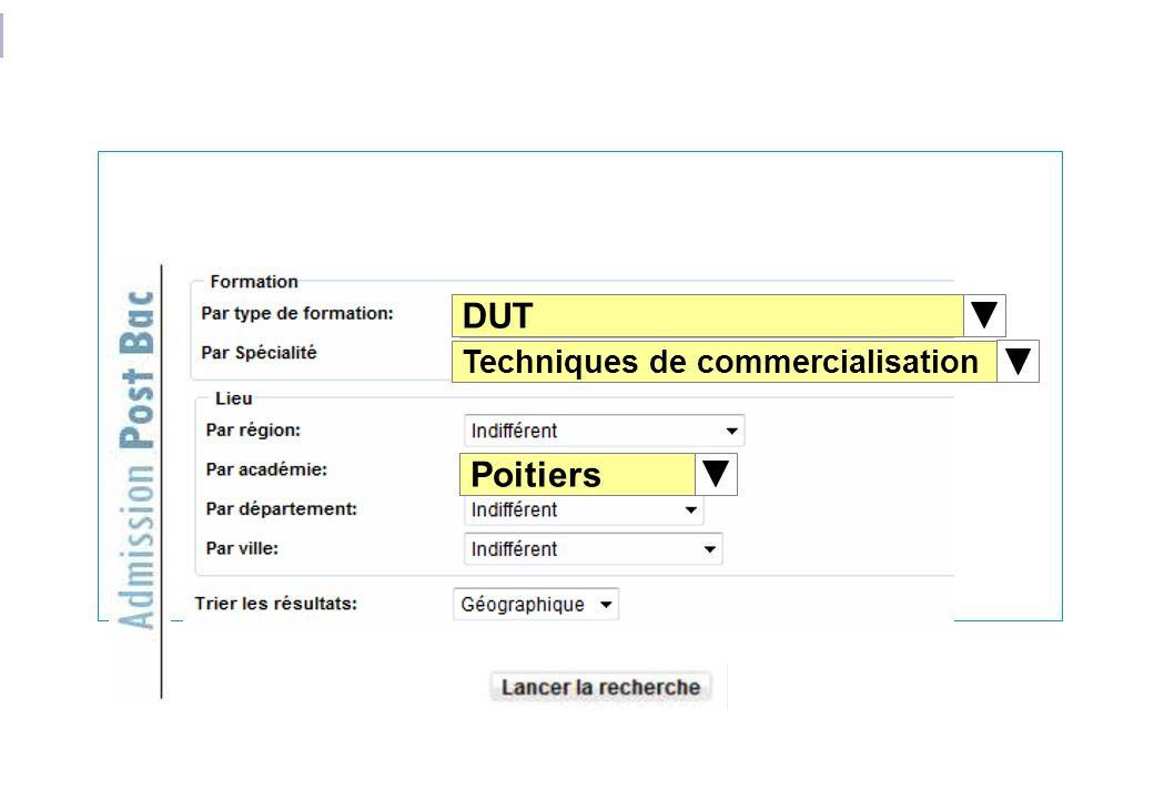 DUT Techniques de commercialisation Poitiers