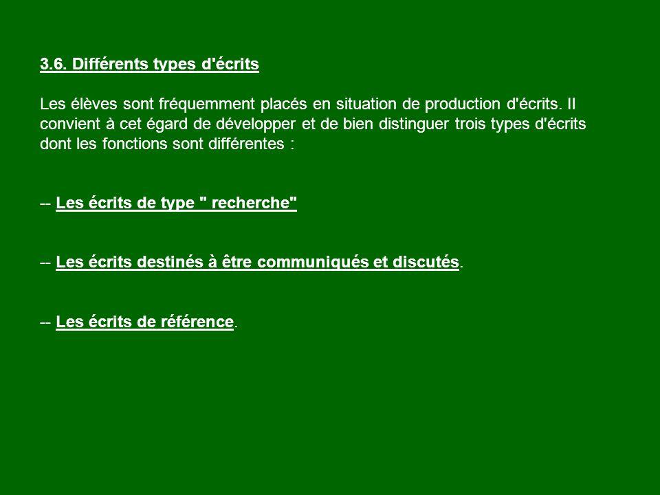 Utilisation de la langue courante Travail sur la langue française Les manuels évoluent Travail sur les mots polysémiques Travail sur le vocabulaire Lexique, activité spécifique La narration de recherche