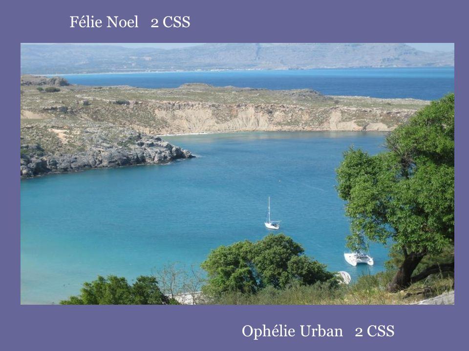 Félie Noel 2 CSS Ophélie Urban 2 CSS