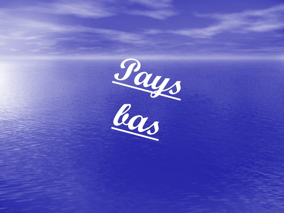 Pays b a s