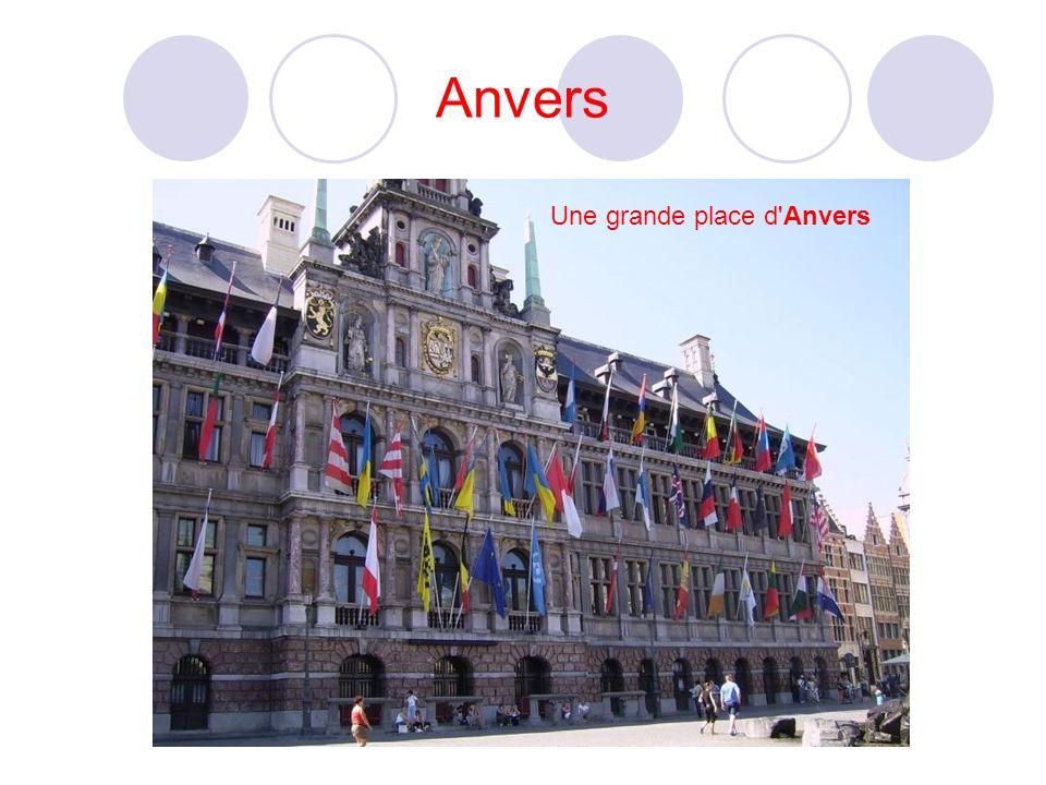 Anvers Une grande place d Anvers