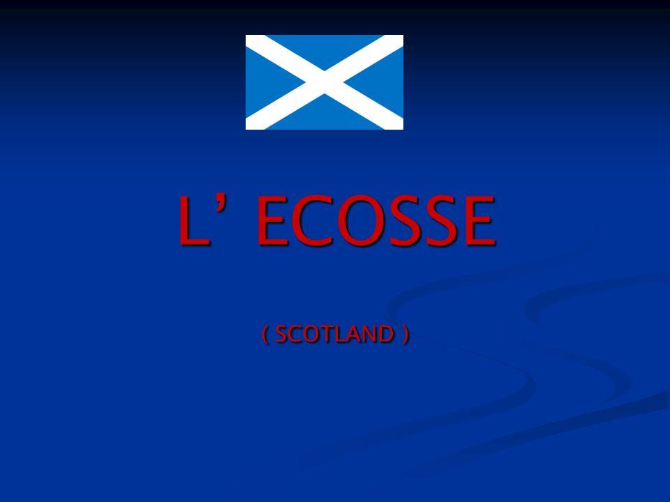 LECOSSE LÉcosse est lun des trois pays qui forment la Grande-Bretagne avec lAngleterre et le Pays de Galles auxquels est adjointe la province de lIrlande du Nord pour former le Royaume-Uni.