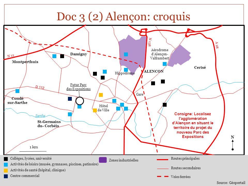 Doc 4 « Porté par la Communauté Urbaine dAlençon, le projet de réhabilitation du Parc Élan va rentrer dans sa phase opérationnelle dans quelques semaines, grâce à la forte mobilisation des élus et des services.